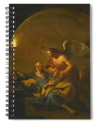 The Liberation Of Saint Peter Spiral Notebook
