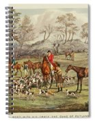 The Life Of A Sportsman Spiral Notebook