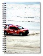 The Lifeguard Truck Spiral Notebook