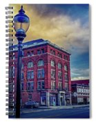 The Light Ahead Spiral Notebook