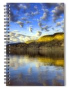 The Light At Skaha Lake Spiral Notebook