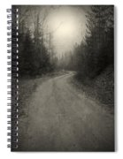 The Light At The End Of The Road Spiral Notebook