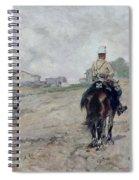 The Light Cavalryman Spiral Notebook