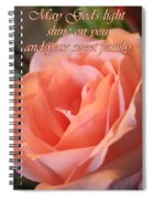 The Light Of God Spiral Notebook