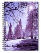 The Light Of River View Spiral Notebook