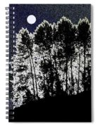 The Light Of The Moon Spiral Notebook