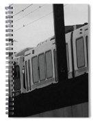 The Light Rail Spiral Notebook