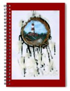The Assateague Lighthouse Spiral Notebook