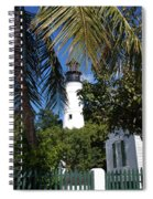 The Lighthouse In Key West II Spiral Notebook