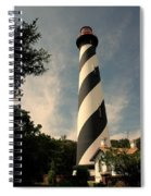 The Lighthouse In St.augustin Fl Spiral Notebook
