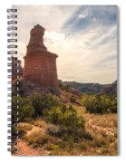 The Lighthouse - Palo Duro Canyon Texas Spiral Notebook