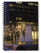 New York City Lights Spiral Notebook
