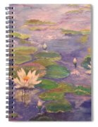 The Lily Pond Spiral Notebook