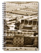 The Linc - Aerial View Spiral Notebook