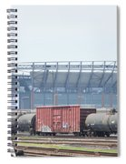 The Linc From The Other Side Of The Tracks Spiral Notebook