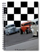 The Line-up Spiral Notebook