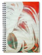 The Lion And The Swan  Spiral Notebook