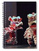 The Lion Dance Camarillo Kung Fu Club Spiral Notebook