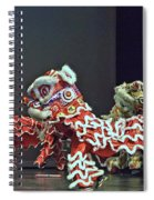 The Lion Dance Camarillo  Spiral Notebook