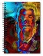 The Lion Emperor  Spiral Notebook