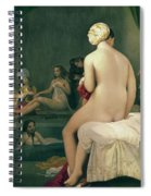 The Little Bather In The Harem Spiral Notebook