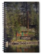 The Little Cabin Spiral Notebook