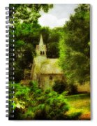 The Little Church On The Corner Spiral Notebook