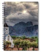 The Little Church  Spiral Notebook