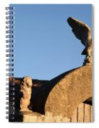 The Little Lion And The Soaring Eagle Who Watches Over Him Spiral Notebook
