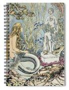 The Little Mermaid Spiral Notebook