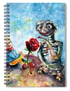 The Little Prince And E.t. Spiral Notebook