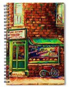 The Little Red Wagon Spiral Notebook