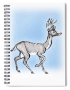 The Little Reindeer  Spiral Notebook
