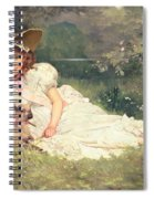 The Little Shepherdess Spiral Notebook