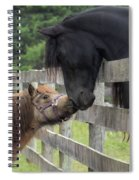 The Little Visitor Spiral Notebook