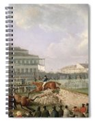 The Liverpool And National Steeplechase At Aintree Spiral Notebook