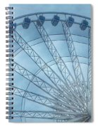 The Liverpool Wheel In Blues 2 Spiral Notebook
