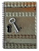 The Lock Box Spiral Notebook