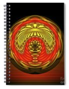 The Locked Room Spiral Notebook