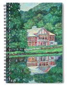 The Lodge At Peaks Of Otter Spiral Notebook