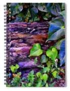 The Log In The Woods  Spiral Notebook