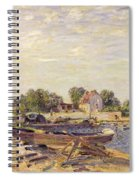 The Loing At Saint Mammes 1885 Spiral Notebook