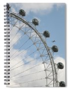 The London Eye Spiral Notebook