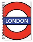 The London Underground Spiral Notebook