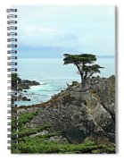 The Lone Cypress Stands Alone Spiral Notebook