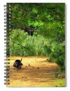 The Lone Survivor Spiral Notebook