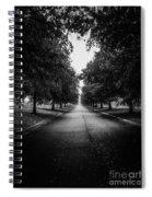 The Lone Walk Spiral Notebook