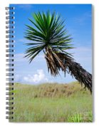 The Lone Yucca Spiral Notebook