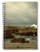 The Lonely Sea And Sky Spiral Notebook