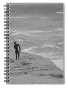 The Lonely Surfer Dude Spiral Notebook